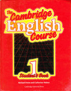 The Cambridge English Course, 1 Student'sBook